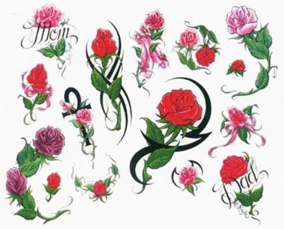 Татуировки женские цветы тату цветок